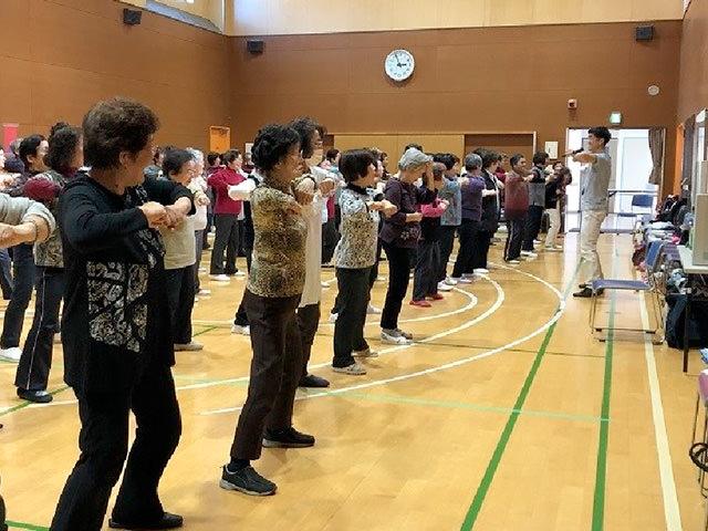 筋力トレーニング講習会(3・3運動プログラム)