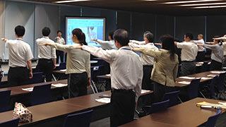 腰痛・肩こり&ストレス解消のための講話と体操