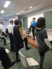 生活習慣病予防セミナー ~手軽にできる体幹トレーニング~
